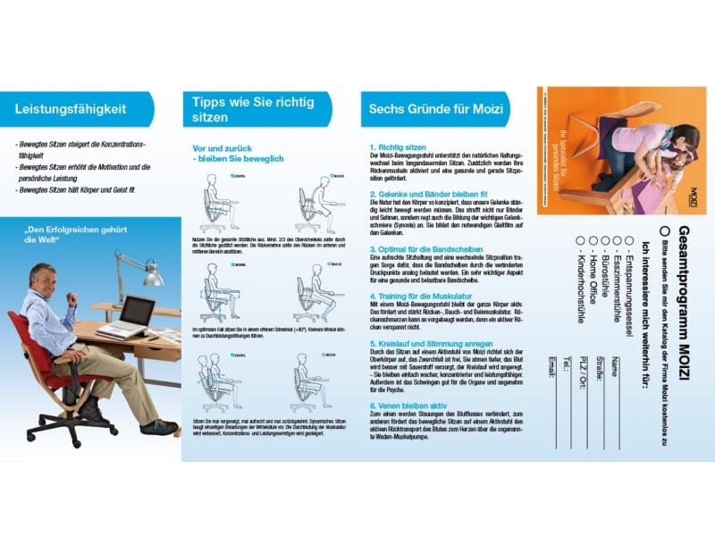 MOIZI Flyer Büromöbel | Rückseite - Variante mit Katalog<br>Ansichtsbild | JPG | 463 KB