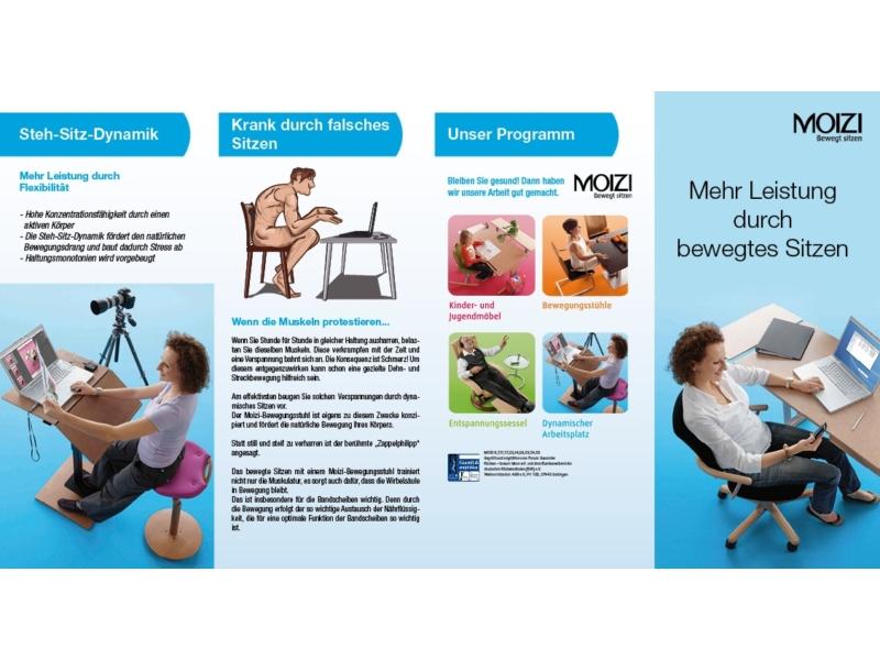 MOIZI Flyer Büromöbel | Titelseite - Variante 1<br>Ansichtsbild | JPG | 450 KB
